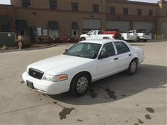 2011 Ford Crown Victoria Police Cruiser