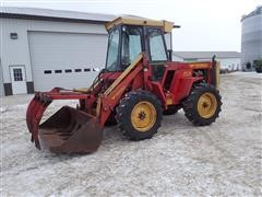 1980 Versatile 150 Bi-Directional 4WD Tractor W/1450 Loader And Grapple