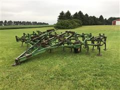 John Deere C21 Cultivator With 2 Bar Harrow