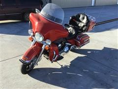 2002 Harley Davidson Firefighter Special Edition Ultra Classic Electra Glide 1450cc Motorcycle
