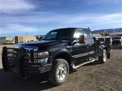 2010 Ford F350 Super Duty 4x4 Extended Cab Utility Truck