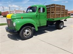 1949 International KB-5 S/A Dually Flatbed Truck