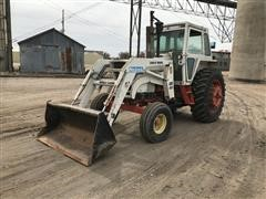 Case 1070 2WD Tractor W/GB 660 Loader