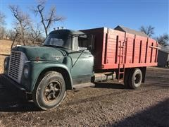1967 International 1600 Loadstar Grain Truck W/Box & Hoist