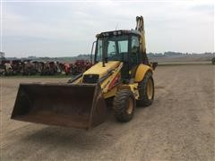 2006 New Holland B95 4x4 Loader Backhoe