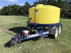 Duo Lift 1200 Gallon Tank T/A Trailer