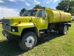 1989 Ford F800 Water Tanker