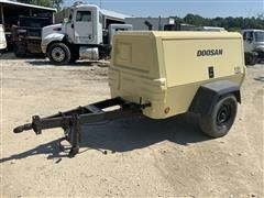2016 Doosan P185WDO-T4F Portable Air Compressor