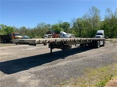 2006 Chaparral T/A Flatbed Trailer