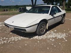 1984 Pontiac Fiero 2M4 Sports Car