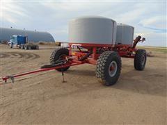 2013 JD Skiles Row Tracker Pull Behind Fertilizer Cart