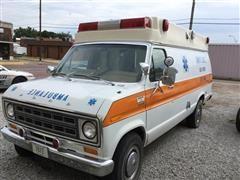 1978 Ford Econoline 350 Ambulance Van