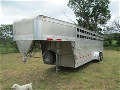 2014 Eby Maverick T/A Livestock Trailer
