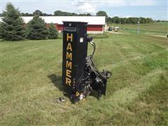 Danhuser Hammer SM40 Skid Steer Post Driver