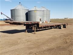 1999 Doonan 502DBI4 T/A Drop Deck Trailer
