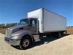2016 Kenworth T270 S/A Cab & Chassis W/26' Cargo Box