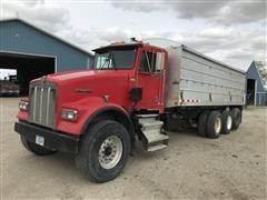 1999 Kenworth W900B Tri/A Grain Truck