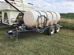 B-B Snyder 1000 T/A Water Trailer