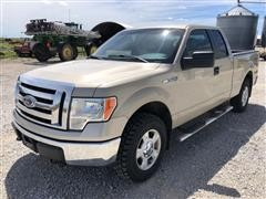 2010 Ford F-150 4x4 Extended Cab XLT Pickup
