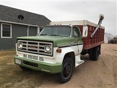 1976 GMC 6000 S/A Grain Truck