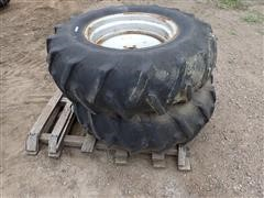 Firestone 14.9-24 Tires W/8 Bolt Rims