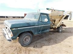 1978 Ford F250 Custom Feed Mixer Truck