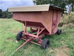 Red 175 Bushel Gravity Wagon