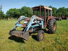 Leyland 272 2WD Tractor W/Loader