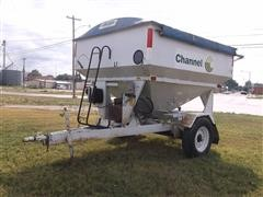 Parker 1500 Auger Wagon W/Weigh-Tronix Scale Monitor