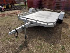 2014 Aluma 7712HTTILT Aluminum Utility Trailer w/ Tilt