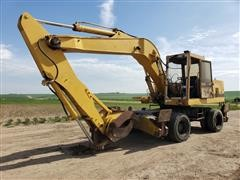 1990 Caterpillar 224B 4X4 Mobile Excavator