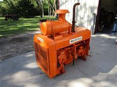 Waukesha 265ci 6 Cyl Gas Power Unit W/Twin Disc Clutch