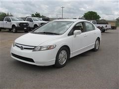 2007 Honda Civic Hybrid 4 Door Sedan