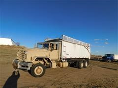 1985 AM General T/A Silage/Grain Truck