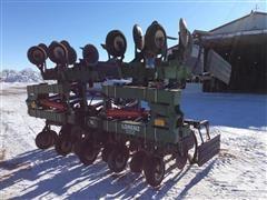 1990 Lorenz Total Till 8 Row Cultivator