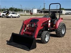 2015 Mahindra 15334FHIL Compact Utility Tractor w/ Loader