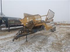 Haybuster 256 Hay Processor W/DW Bale Caddy