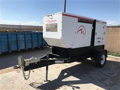 2014 Magnum MMG75D 70kW Trailer Mounted Diesel Generator
