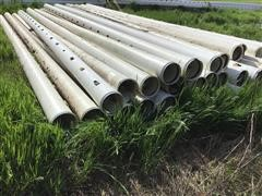 """10"""" Plastic Gated Pipe"""