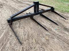 3-Pt Double Bale Fork