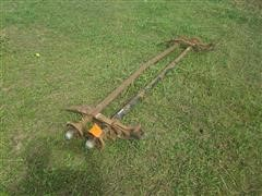 Trailer Axle/Leaf Spring Assembly