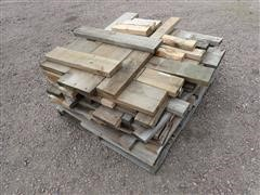 Pallet Of Wood Pieces