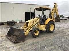 New Holland 555E 2WD Backhoe Loader