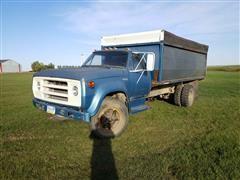 1975 Dodge D600 S/A Grain Truck (INOPERABLE)