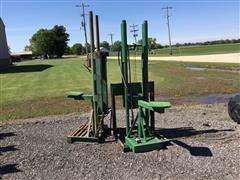 Shop Built Tractor Mounted Handicap Lifts