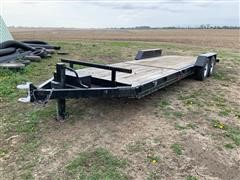 2003 Duo Lift TD81614E T/A Flatbed Trailer