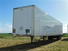 "1998 Wabash Duraplate 53'X102"" T/A Enclosed Van Trailer"