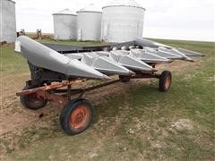 1983 Allis-Chalmers 630A 6-Row Corn Head W/Trailer