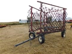 Fuerst Harrow Cart III Flexible Tine Harrow