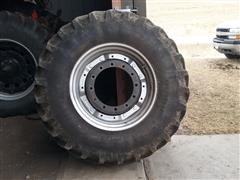 Firestone 420/90R30 Radial All Traction FWD Tires & Rims